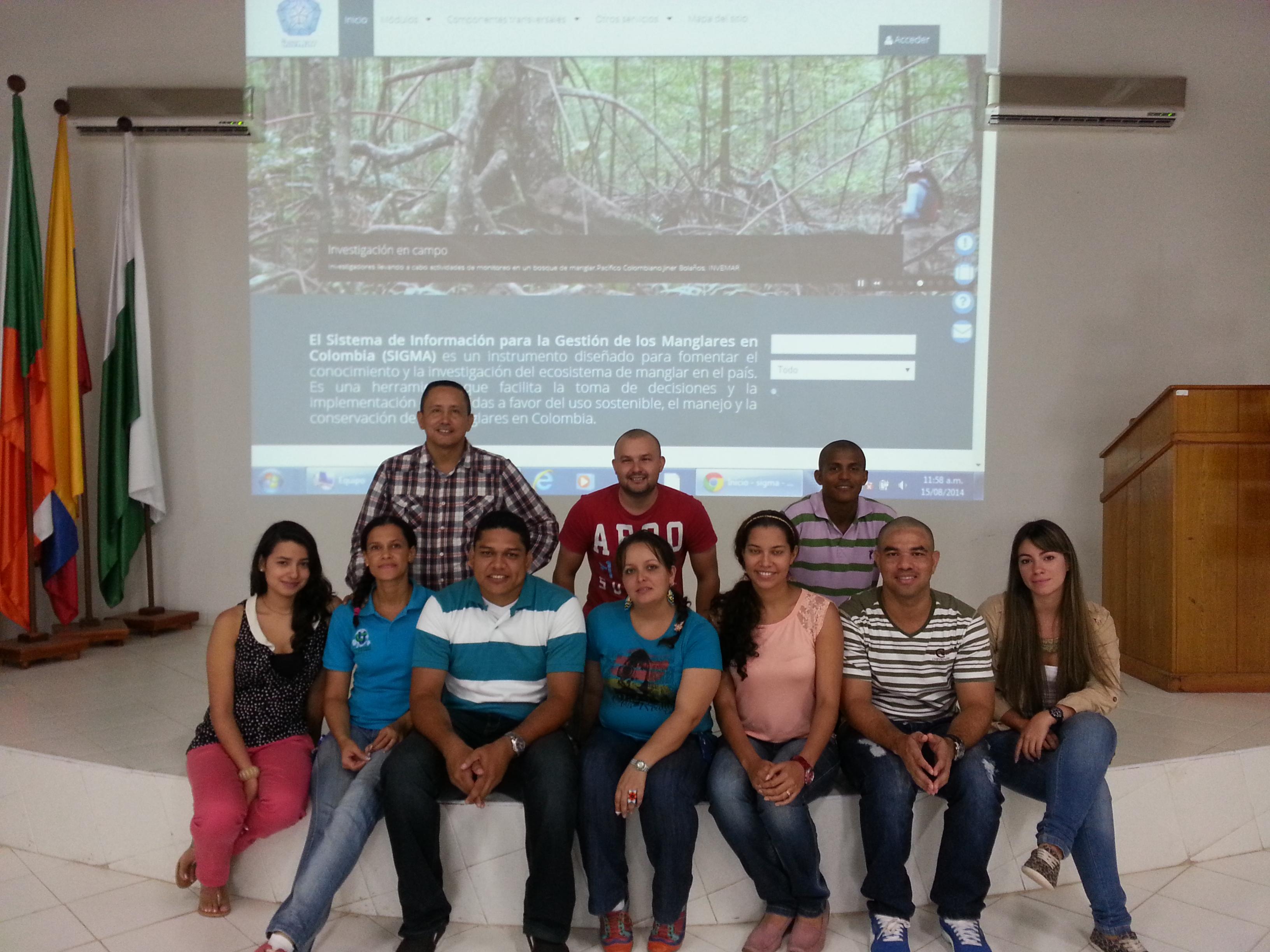 Notable el compromiso de los entes ambientales de Antioquía durante el taller del SIGMA en CORPOURABA